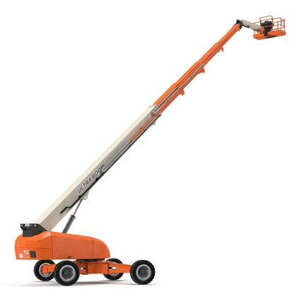 Telescopic Boom Lift Generic 4 Pose 2. Render 20