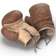 Old Leather Boxing Glove(1). Preview 16