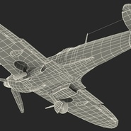 Royal Air Force Fighter Supermarine Spitfire LF Mk IX Rigged. Preview 28