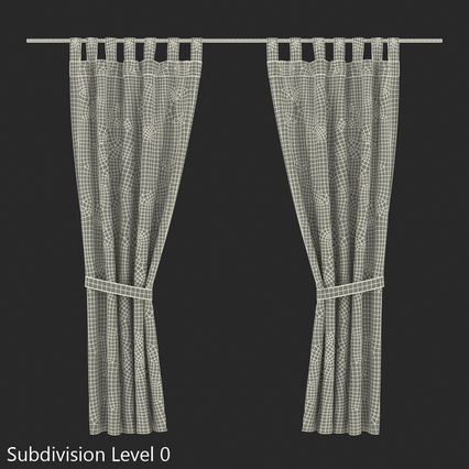 Curtains Collection. Render 68