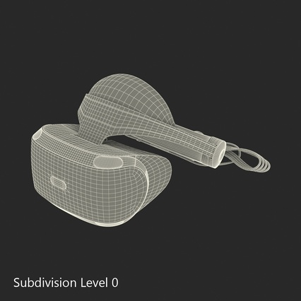 Virtual Reality Goggles Collection. Render 87