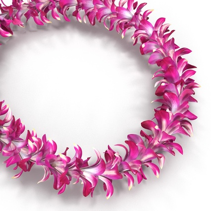 Hawaiian Leis Collection. Render 18