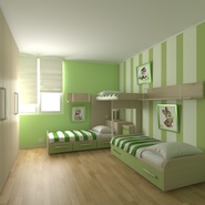 Childrens Bedroom. Preview 3