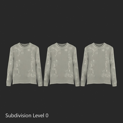 Sweaters Collection. Render 41