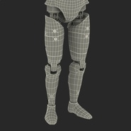 Male Crash Test Dummy Rigged for Cinema 4D. Preview 51