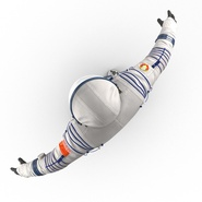 Russian Space Suit Sokol KV2 Rigged. Preview 18