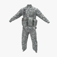 US Helicopter Pilot Uniform Camo 3