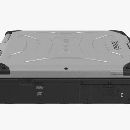 Panasonic Toughbook. Render 10