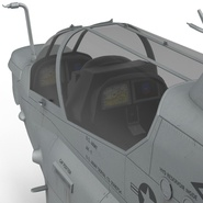 Attack Helicopter Bell AH 1Z Viper Rigged. Preview 57