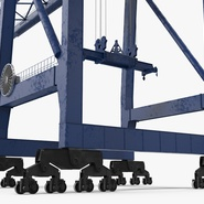 Container Crane Blue. Preview 19