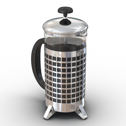 French Press. Render 6