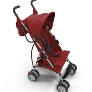 Baby Stroller Red. Preview 14