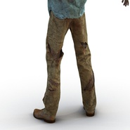 Zombie Rigged for Cinema 4D. Preview 35