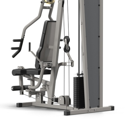 Weight Machine 2. Render 18