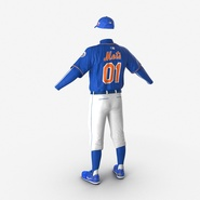 Baseball Player Outfit Mets 2. Preview 12