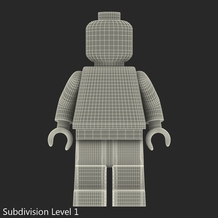 Lego Minifigures Collection 3d model