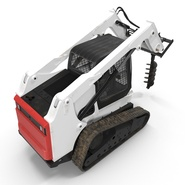 Compact Tracked Loader with Auger. Preview 12