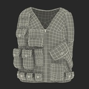 Military Camouflage Vest. Preview 4