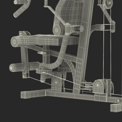 Weight Machine 2. Render 53