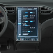 Tesla Model X Rigged. Preview 72