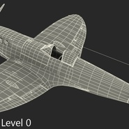 Royal Air Force Fighter Supermarine Spitfire LF Mk IX Rigged. Preview 21