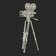 Vintage Video Camera and Tripod. Preview 37