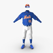 Baseball Player Outfit Mets 2. Preview 5