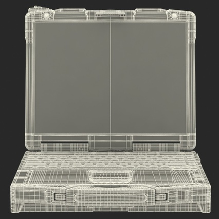 Panasonic Toughbook. Render 27