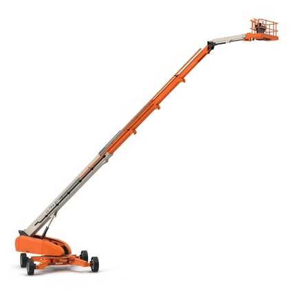 Telescopic Boom Lift Generic 4 Pose 2. Render 5