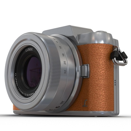 Panasonic DMC GF7 Brown. Render 22