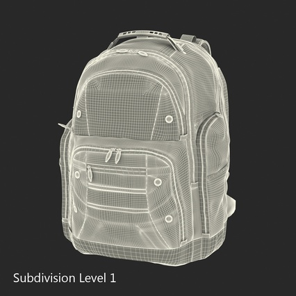 Backpack 2 Generic. Render 22
