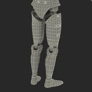 Male Crash Test Dummy Rigged for Cinema 4D. Preview 52