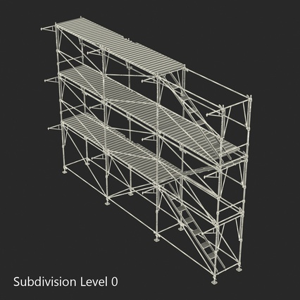 Scaffolding Collection 2. Render 45