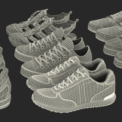 Sneakers Collection 4. Render 137