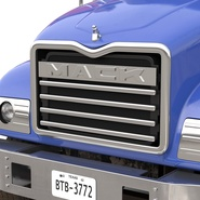 Dump Truck Mack Rigged. Preview 65