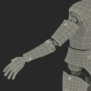 Male Crash Test Dummy Rigged for Cinema 4D. Preview 50