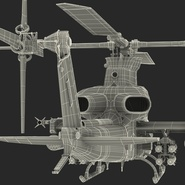 Attack Helicopter Bell AH 1Z Viper Rigged. Preview 99