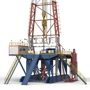 Fracking Gas Platform. Preview 18