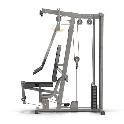 Weight Machine 2. Render 10