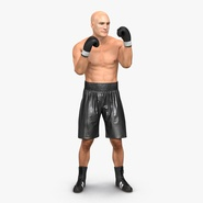Adult Boxer Man Rigged 2