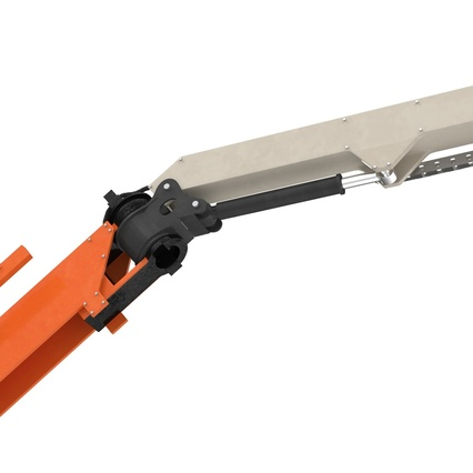 Telescopic Boom Lift Generic 4 Pose 2. Render 64