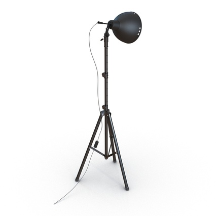 Photo Studio Lamps Collection. Render 34
