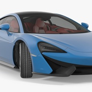 Supercar McLaren 570GT 2017. Preview 2