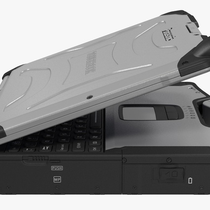 Panasonic Toughbook. Render 11