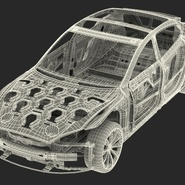 Tesla Model S Frame and Chassis. Preview 37