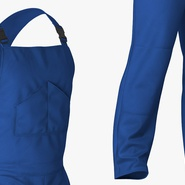 Blue Workwear Overalls. Preview 7