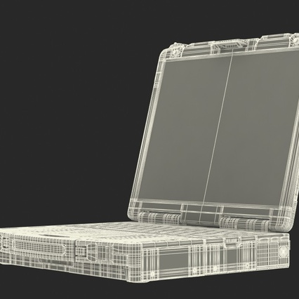 Panasonic Toughbook. Render 4