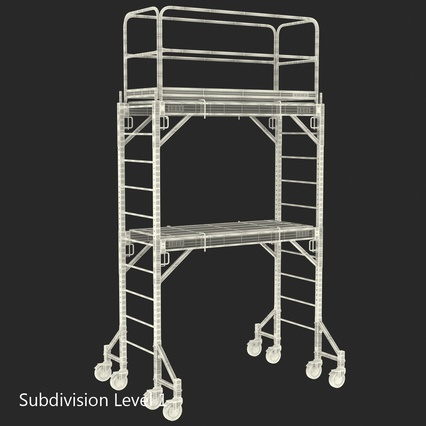 Scaffolding Collection 2. Render 52