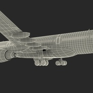 Jet Airliner Airbus A330-200 Northwest Airlines Rigged. Preview 69