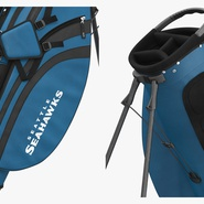 Golf Bag Seahawks with Clubs. Preview 9